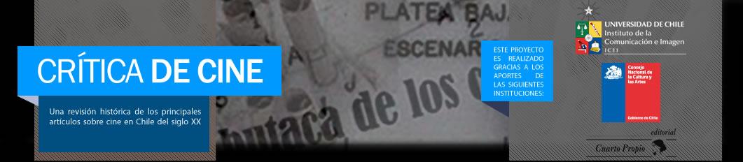 Critica de Cine – Instituto de la Comunicación e Imagen de la Universidad de Chile